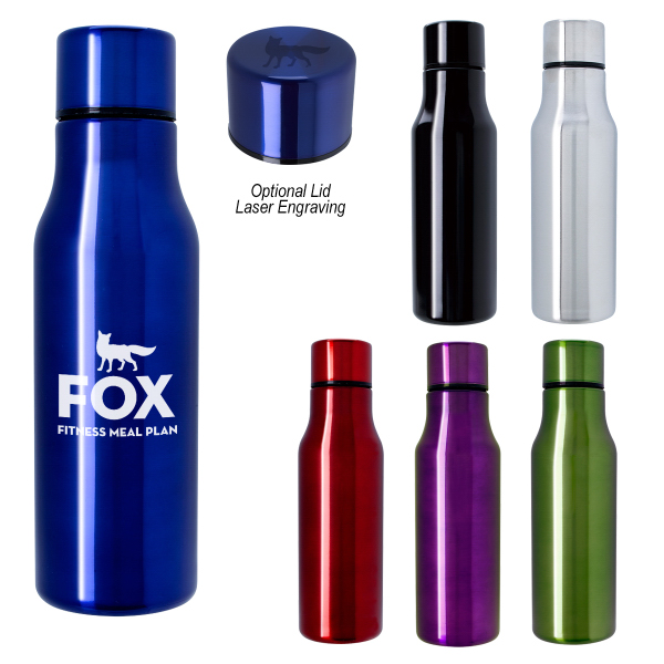 Custom 24 oz. Stainless Steel Bottle