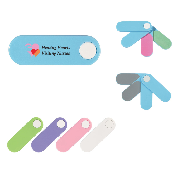 Customized 4 in 1 Mini Nail file