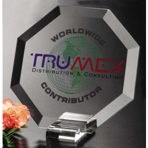 Promotional Illumachrome (TM) Primsa Octagon Award