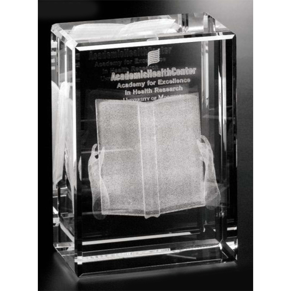 Printed Rectangle Cube Award