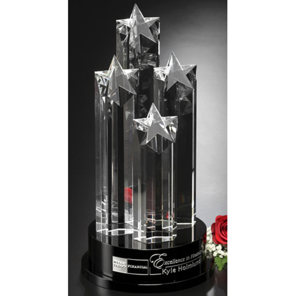 Imprinted Constellation Crystal Award