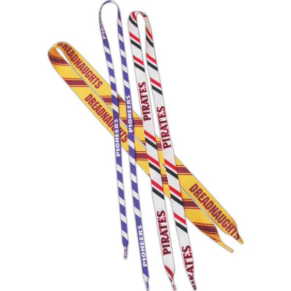 Printed Game Day Laces