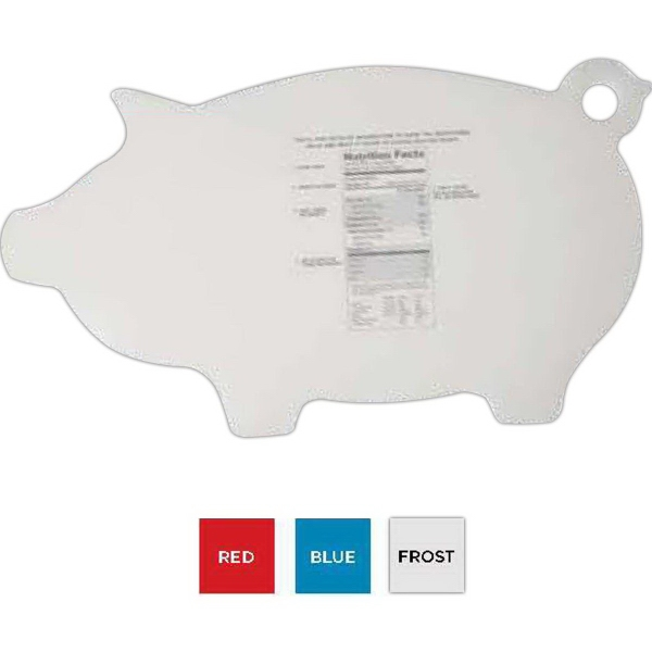 Imprinted Flex-It (TM) Piggy Cutting Board