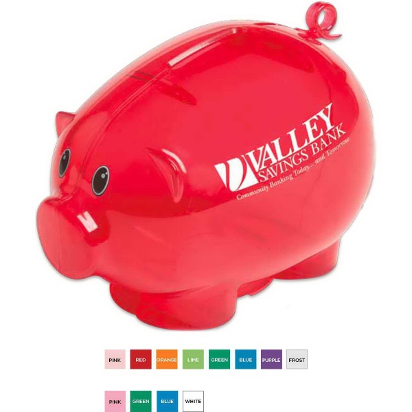 Personalized Action Piggy Bank