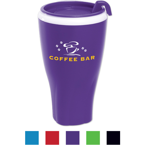 Personalized Twister Tumbler (TM) with Matching Lid