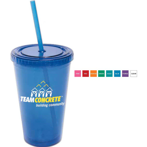 Promotional 16 oz All-Pro (TM) Acrylic Cup