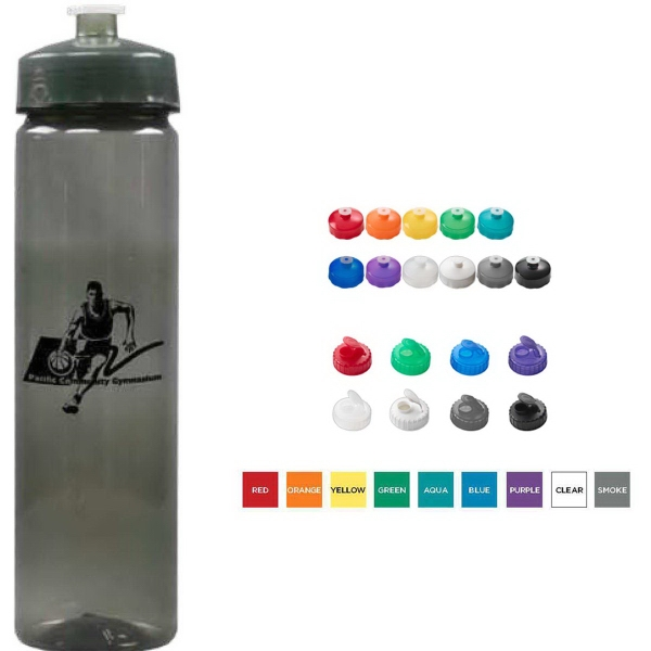 Promotional 24 oz Polysure (TM) Refresh Bottle
