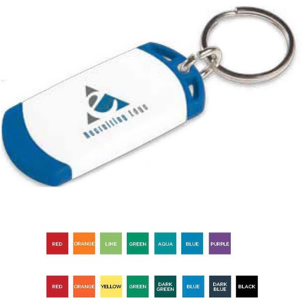 Custom On The Edge Key Tag