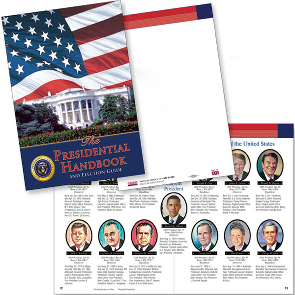 Printed The Presidential Handbook and Election Guide