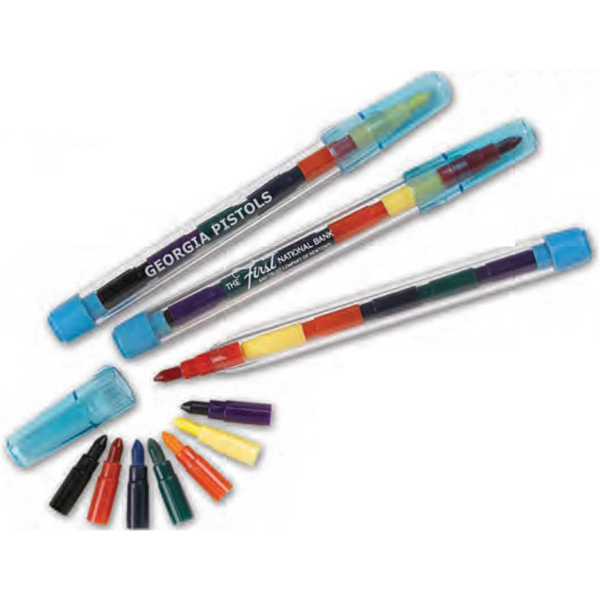 Customized Pop-A-Point Crayons (Imprinted)