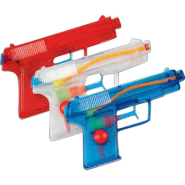 "Customized 5 1/2"" Pistol Water Gun (Imprinted)"