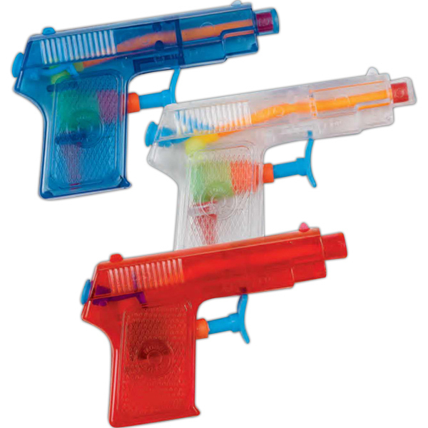 "Personalized 4"" Mini Pistol Water Gun (Imprinted)"
