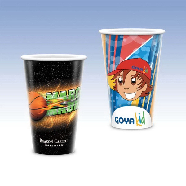 Personalized Visstun® 16oz Heavy Duty Paper Cold Cup-Full Color