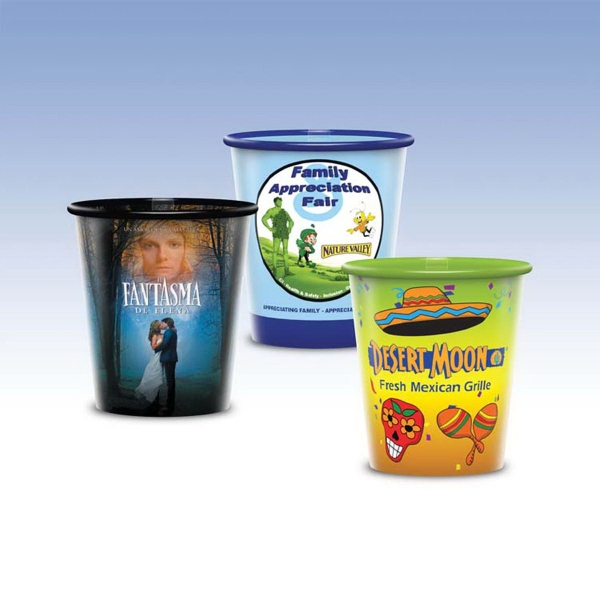 Customized Visstun® 9oz Reusable Clear Plastic Cup -Hi-Def