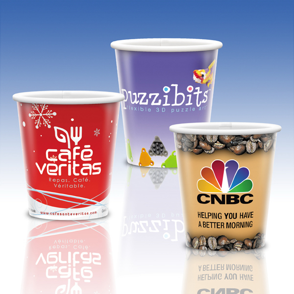 Customized Visstun® 9oz Heavy Duty Paper Hot Cup-Full Color