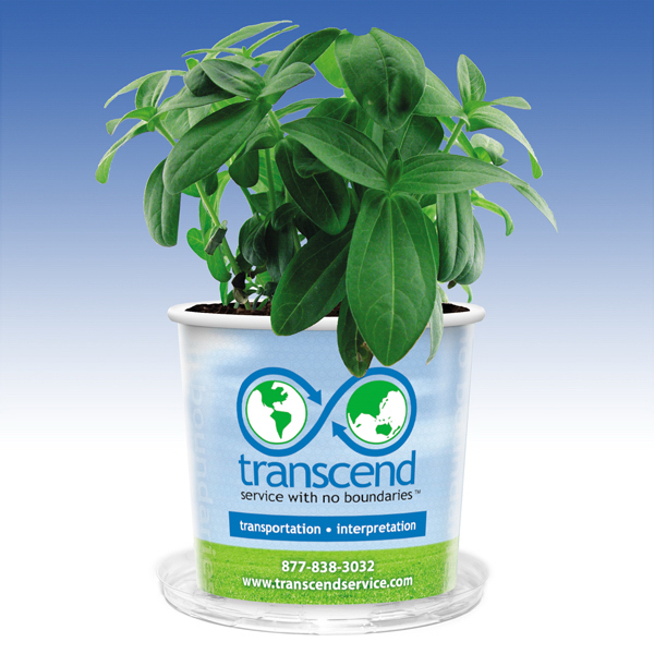 Personalized Visstun® 16oz Grow Kit w/Seeds and Soil-Full Color