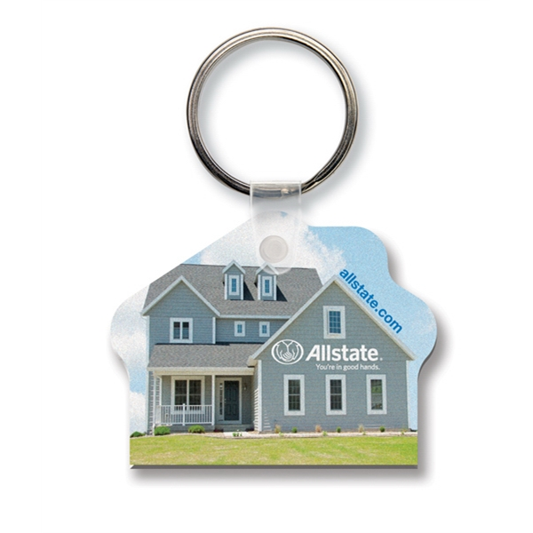 Promotional Key Tag - House - Full Color