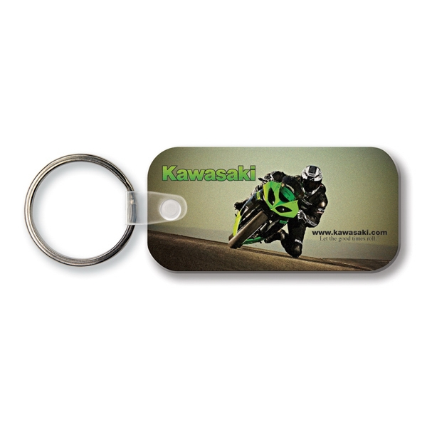 Customized Key Tag - Large Rectangle w/RC - Full Color