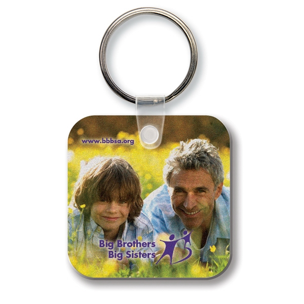 Custom Key Tag - Square w/RC - Full Color