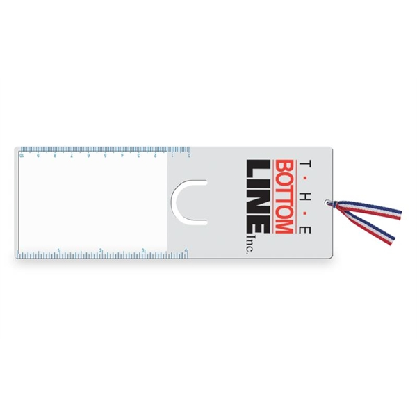 Customized Pre-Reader Bookmark/Ruler/Magnifier