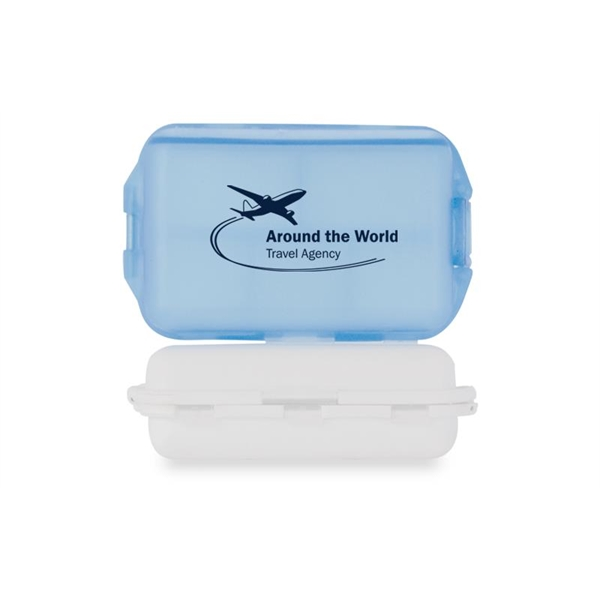 Imprinted Fill, Fold and Fly Medicine Box