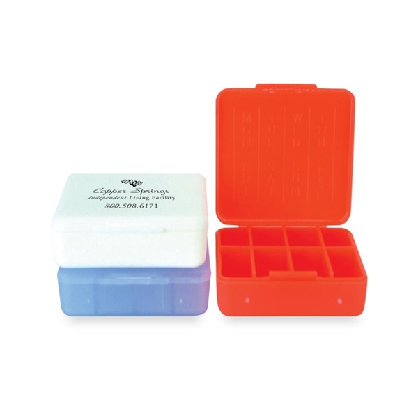 Personalized Compact Pill Box