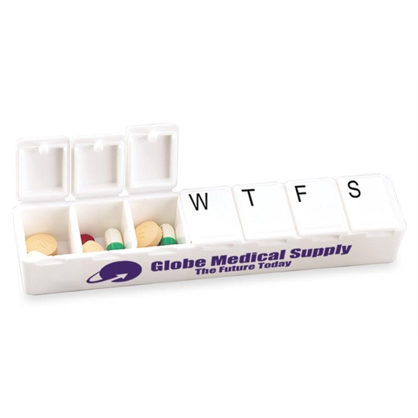 Personalized Carry Along All-Week Pill Box