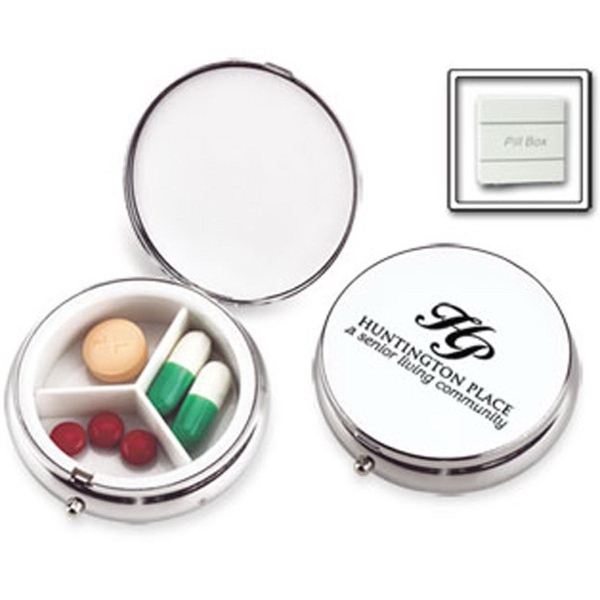 Personalized Formal Affair Metal Pill Case