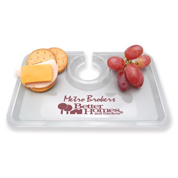 Personalized Take-Two Snack & Wine Tray