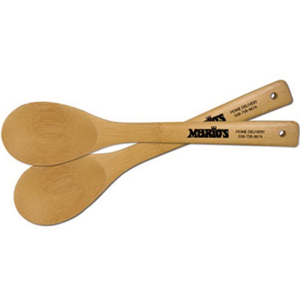 Imprinted Bamboo Spoon