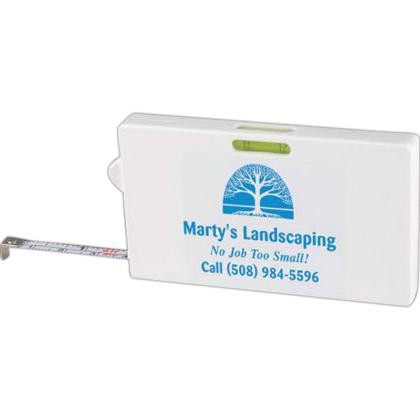 Personalized Business Card Tape Measure