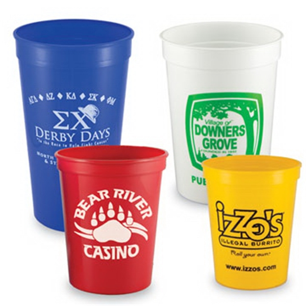 Customized 12 oz. Home & Away Stadium Cup