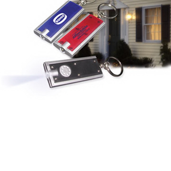 Promotional Safe-Night Light & Key Chain