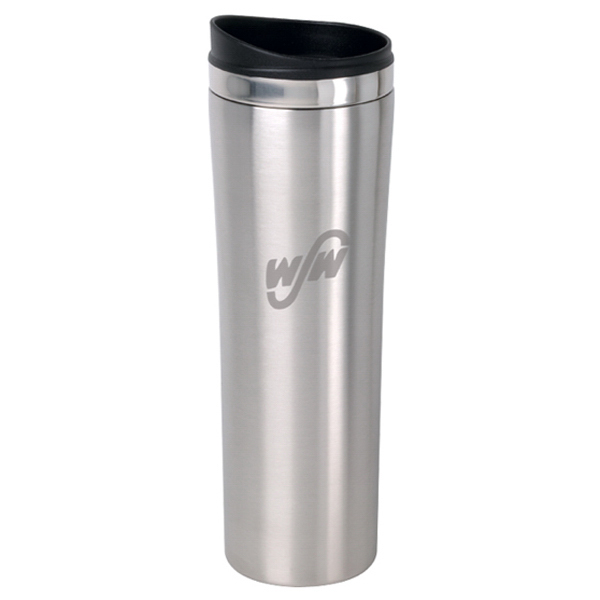 Custom 16 oz. Slimline stainless steel tumbler