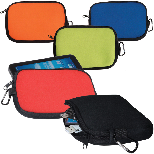 Customized LogoTec Accessory Pouch - Neoprene