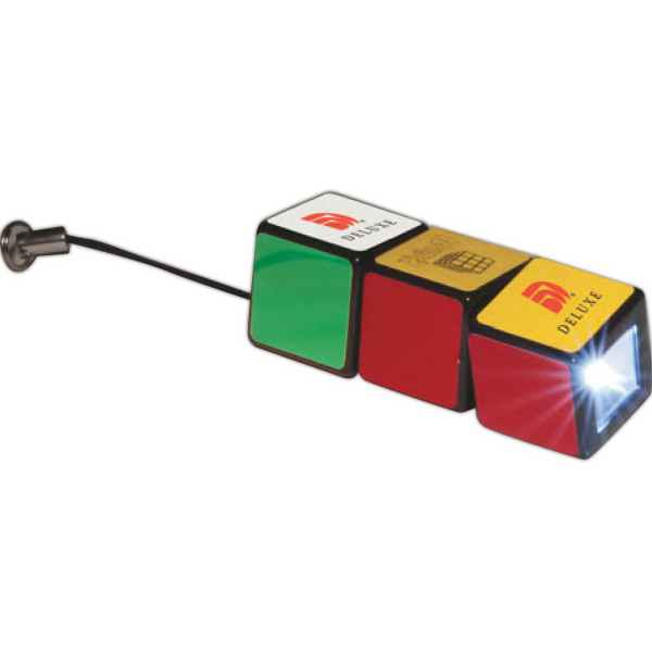 Imprinted Rubik's (R) Flashlight
