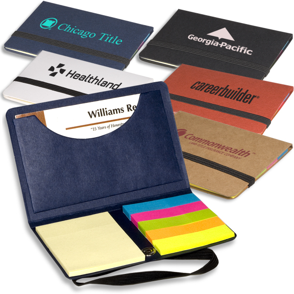 Custom Sticky Book (TM) Business Card Sticky Pack