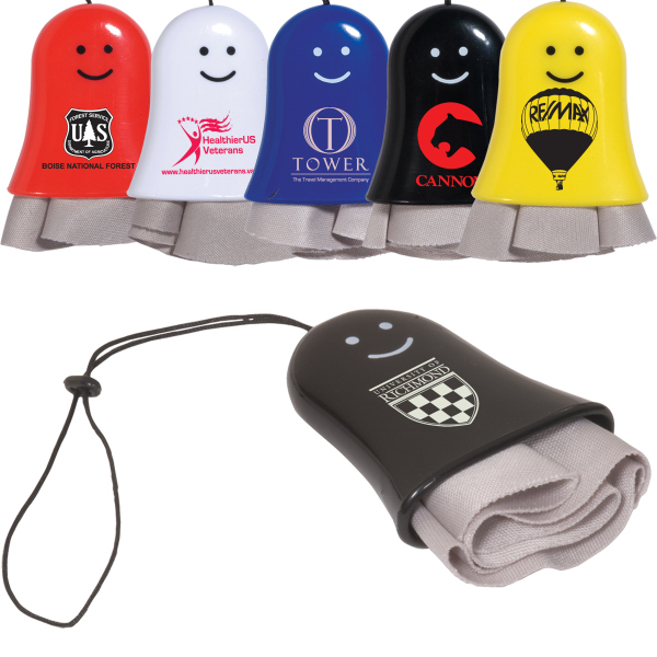 Personalized Smiley Lens Cleaner