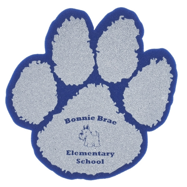 "Imprinted 10"" Paw Foam Mitt"