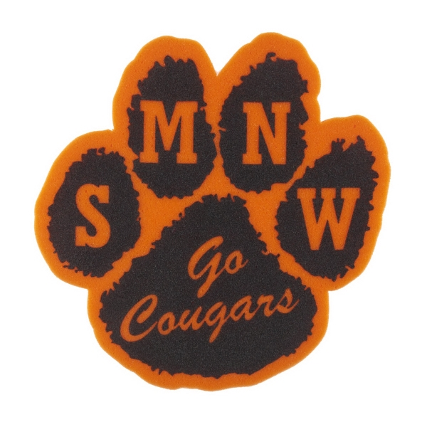 "Promotional 14"" Paw Foam Mitt"