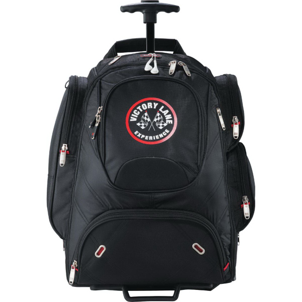 Custom Elleven (TM) Wheeled Security-Friendly Compu-Backpack