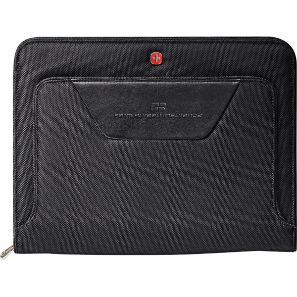 Customized Wenger® Ballistic Zippered Padfolio Bundle Set
