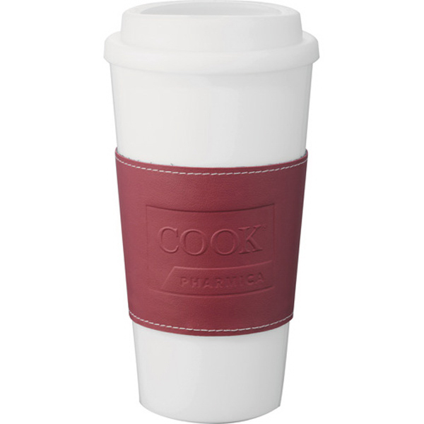 Personalized Mega Double Wall Plastic Tumbler with Wrap 16 oz