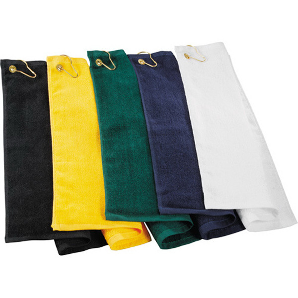 Personalized 1.3 Lb. Terry Golf Towel