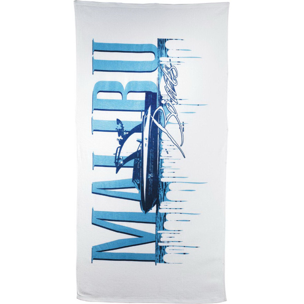 Custom 10.5lb./Doz. Mid-Weight Beach Towel