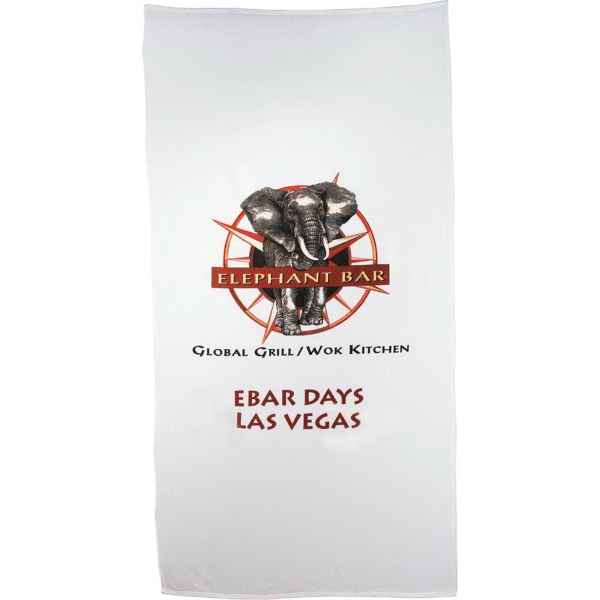 Customized 20lb./Doz. Heavy Weight Beach Towel