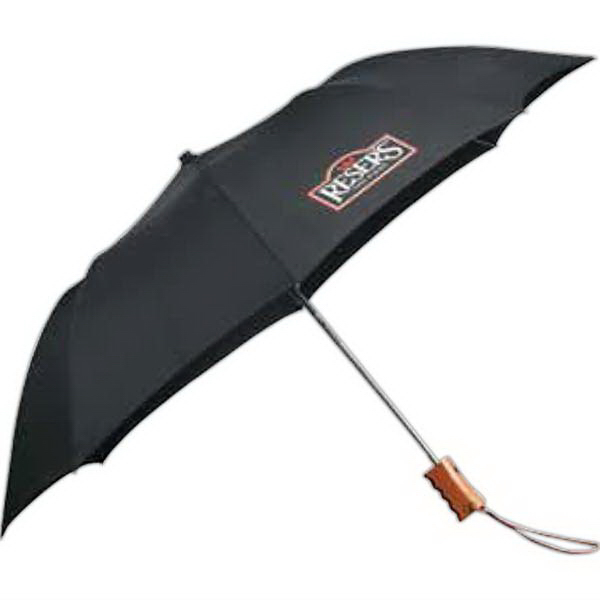 "Customized 44"" EcoSmart (R) Folding Umbrella"
