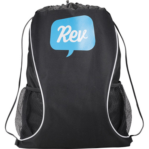 Personalized Boomerang Cinch Bag