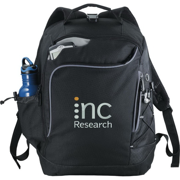 Printed Summit Checkpoint-Friendly Compu-Backpack