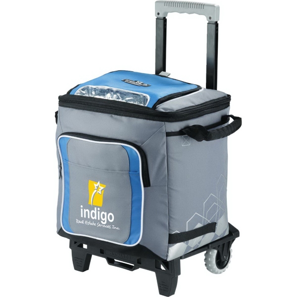 Promotional Arctic Zone (R) IceCOLD (TM) 50-Can Rolling Cooler